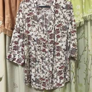 Cinderella 3/4 blouse