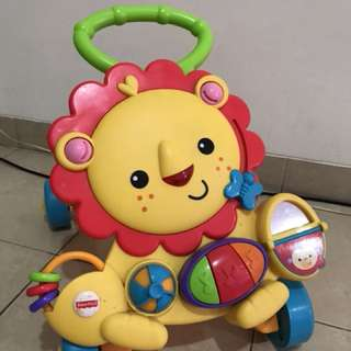 Musical Lion Walker Fisher Price