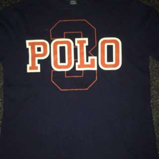Authentic Polo Raulph Lauren Navy Boys T-shirt