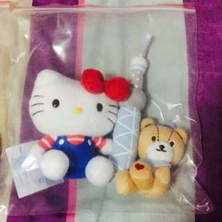 Fast Deal~ @$30:)Authentic Hello Kitty @ Tokyo Flushies😍😍