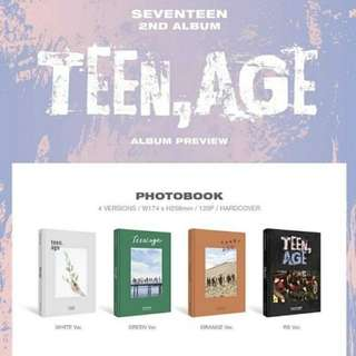 [Ready stock] Poster Only! Seventeen Teen Age
