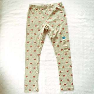 BNWT The Children's Place Gray and Pink Glitter Cat Leggings