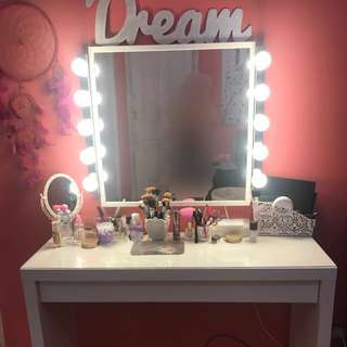 Vanity Mirror & Dressing Table