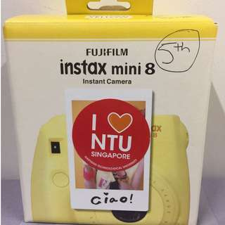 Instax mini 8 Camera [free gifts]