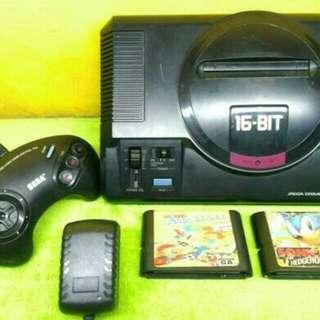 Sega Mega Drive 1 Sega MD 1 Sega MD1 Game Jadul Retro