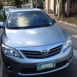 Toyota ALTIS 2013 G VARIANT