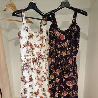 Very nice fabric floral jumpsuit