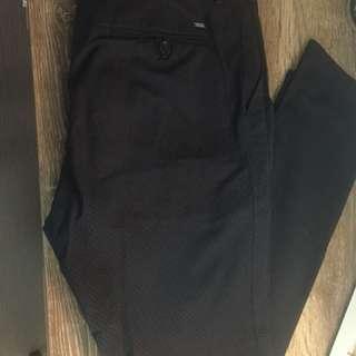 Mena Zara Dark Navy Smart Dress Pants