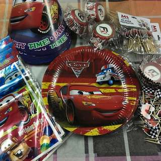 Cars theme party package