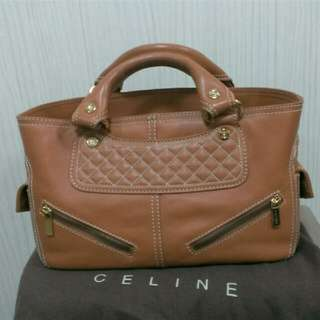 🚚 Celine小羊皮手提包