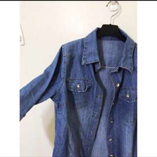 藍色襯衫👕