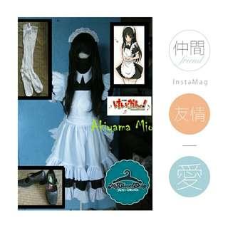 Mio Akiyama (For Rent Cosplay Costume)