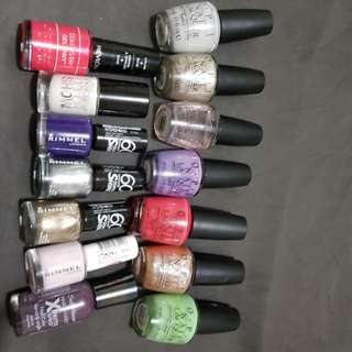 14 bottles OPI and all nail polish $20 delivered