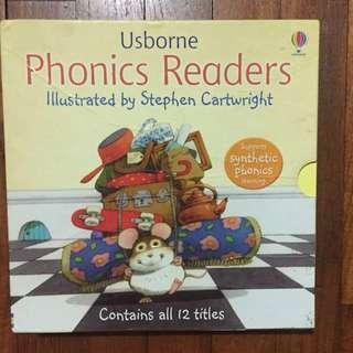 Usborne Phonic readers 12 books