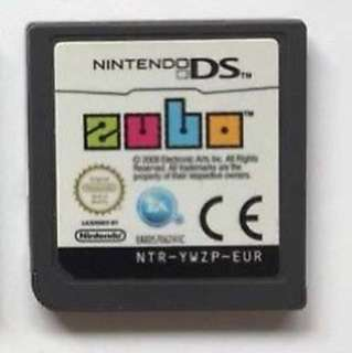 Nintendo DS Zubo game