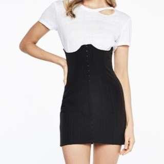 BNWT Bardot Corset Skirt