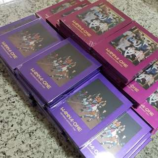 ARRIVAL WANNA ONE NOTHING WITHOUT YOU ALBUM