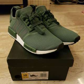 Adidas NMD R1 Trace Green BNIB Bawah Harga Retail