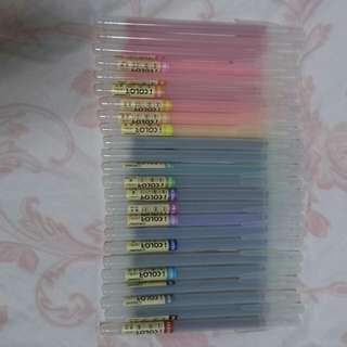 24色水性手札筆記著繪筆