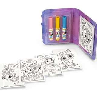 Crayola Color Wonder Mess Free Coloring: Shimmer & Shine (750153)
