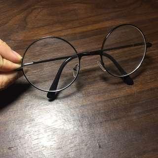 韓風圓框眼鏡