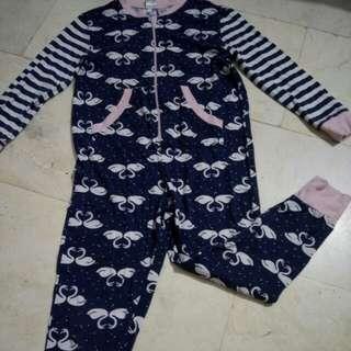 Overall pajama