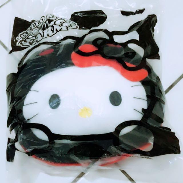 小公主♥全新麥當勞2015年KITTY抱枕瓢蟲造型