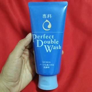 Senka Perfect Double Wash Cleansing Foam
