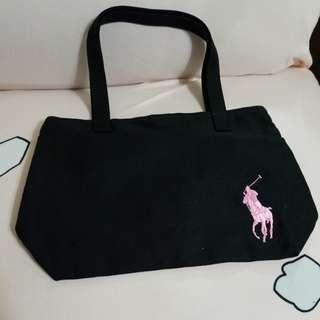 X'mas Gift : Ralph Lauren Pink Pony Tote Bag
