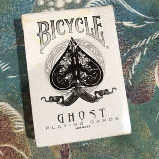 Ghost Bicycle Cards