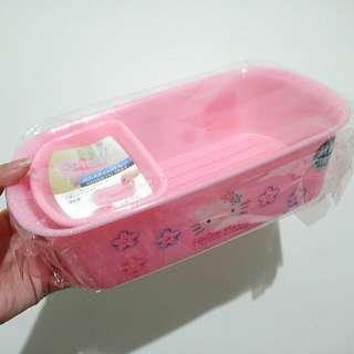 Hello Kitty 保養品收納盒 置物盒