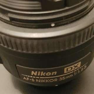 Nikon Nikkor AS-F 35mm 1.8G
