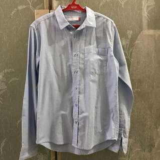 Penshoppe Long Sleeves Polo Shirt