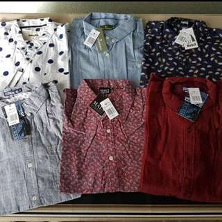 Button down polo