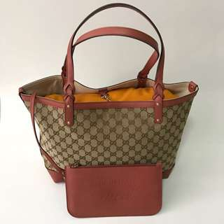Medium Gucci Craft Tote Bag