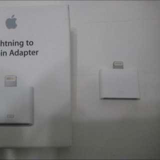 🚚 全新 Apple 原廠 30 針對lightning 轉接頭