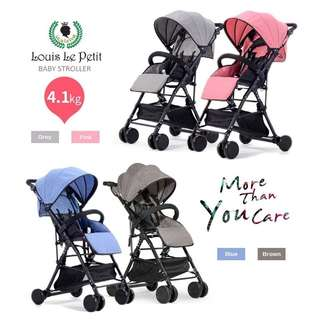 louis le petit light weight stroller/compact travel stroller(Bay0046)