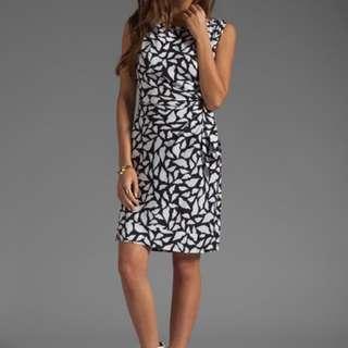 Diane Von Furstenberg New Della Silk Shift Dress