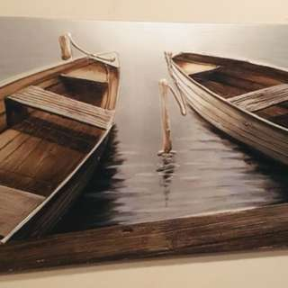 3D Boat Canvas