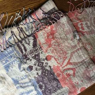 Wilfred Tapestry Rectangle Scarf