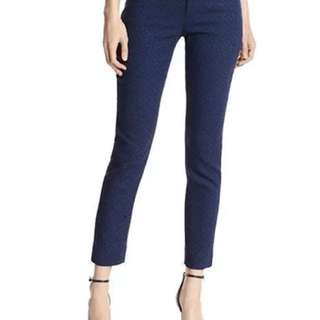 Banana Republic Sloan fit Navy Jacquard pants Sz 8