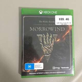 NEW The Elder Scrolls Online: Morrowind XBox One Game