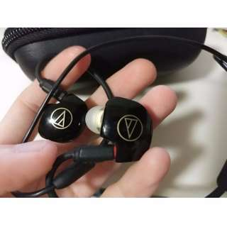 Audio-Technica ATH-IM04 Quad Balanced Armature Drivers In-Ear Monitor Headphones