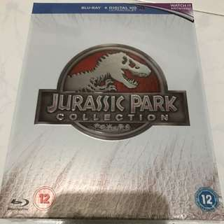 Jurassic Park Complete 4-film Blu-ray Collection