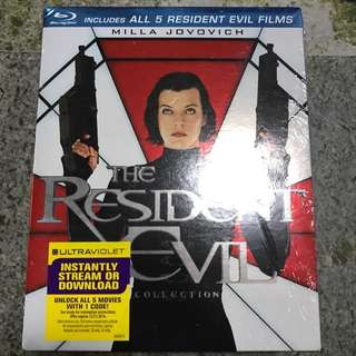 Resident Evil 5-movie Blu-ray Collection