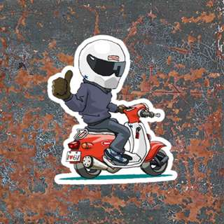 Vespa Sticker 353