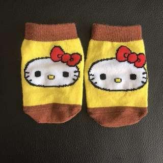 Hello Kitty baby socks x 3 pairs