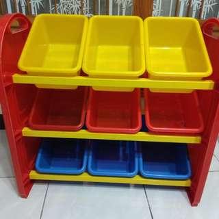 9格玩具收納櫃