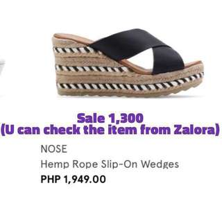 Wedge sandals (size 6 /US 36)