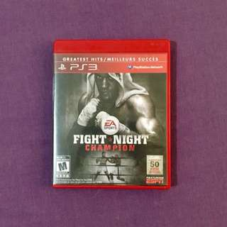 Fight Night Champion - PS3 Games